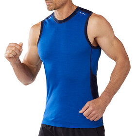 Smartwool M's PhD Ultra Light Sleeveless Bright Blue